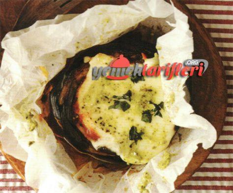 Mozerallalı Patlıcan Tarifi