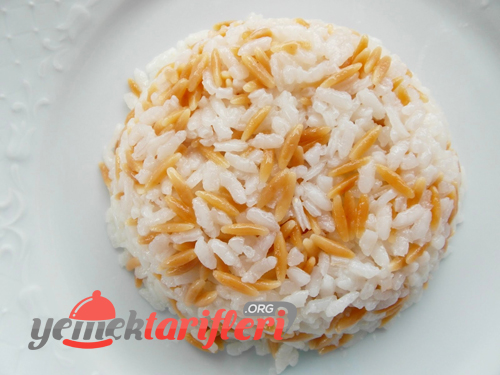arpa sehriyeli pirinc pilavi
