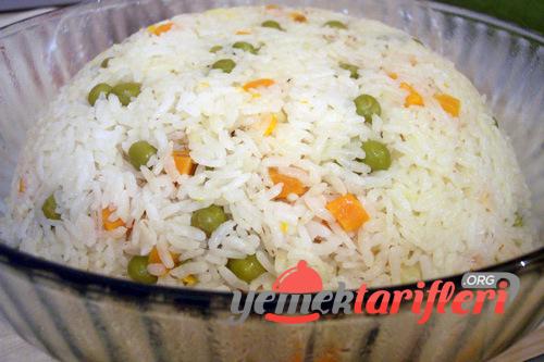 garniturlu pirinc pilavi