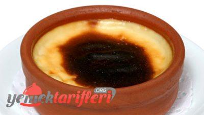 Pastane Usulü Fırın Sütlaç Tarifi
