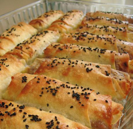 Bulgurlu Kol Böreği Tarifi