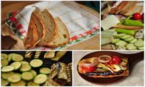 Patlıcan-Kabak-Biber Tava