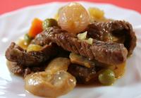 Fırında Jülyen Kesilmiş Biftek