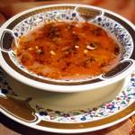 Kızılcıklı Mercimek Çorbası