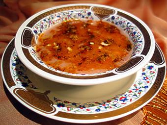 kızılcıklı çorba