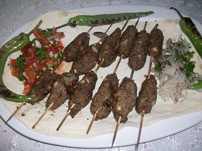 bulgurlu simit kebabı