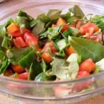 Semizotu Salatası ( İzmir usulu )