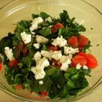 Çiriş Otu Salatası