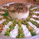 Maklube ( Patlıcanlı Etli Pilav )
