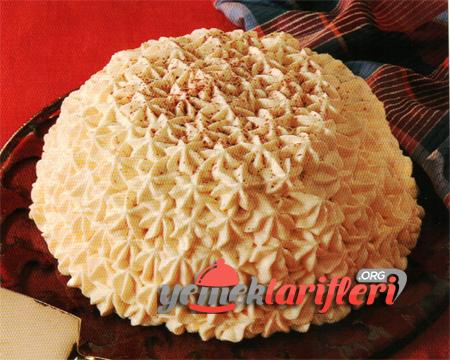 Beyaz Çikolatalı Kartopu Pastası