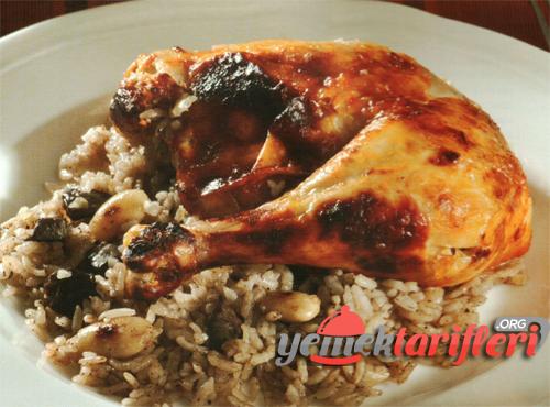 Tavuk Dolması Tarifi ( bademli )