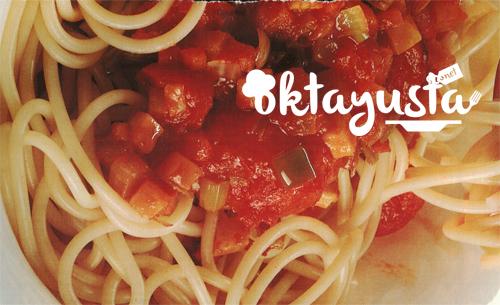 sebzeli-spagetti