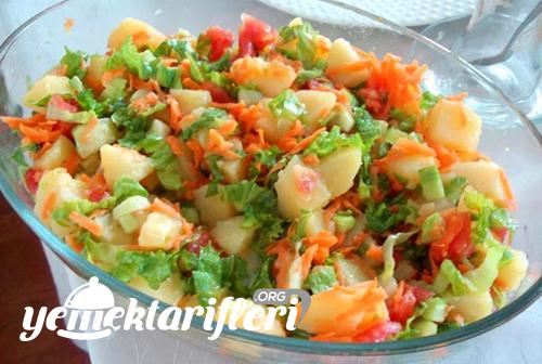 Patates Salatası Tarifi