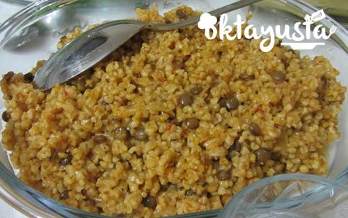 mercimekli-pilav
