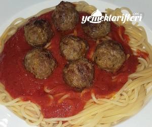 Misket Köfteli Spagetti