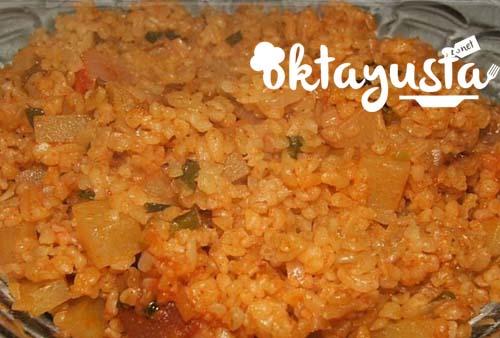 patatesli-bulgur-pilavi