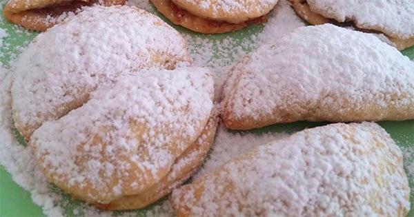 tereyagli elmali kurabiye